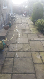 block paving cleaning Durham, driveways and patios County Durham