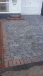 Block paving County Durham, here is a newly laid flagstone patio