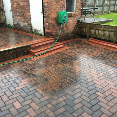 block paving drives, footpaths and patios Durham