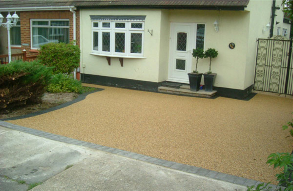 resin bound driveways Durham, patios and footpaths