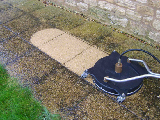 patio and block paving driveway cleaning Durham